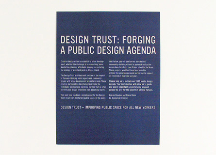 Design Trust for Public Space 1